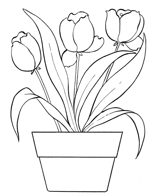 girls planting flowers coloring pages - photo#17