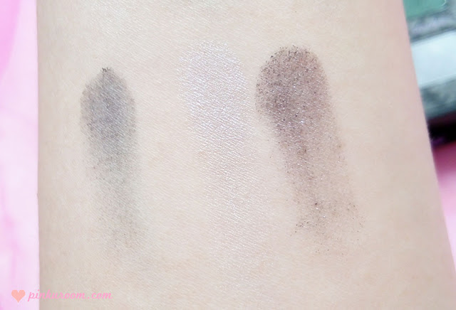 Too Faced Smoky Eye Shadow Collection Review Pinkuroom classic Swatch