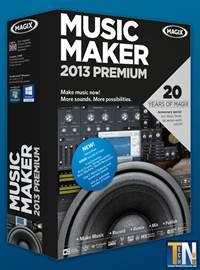 MAGIX Music Maker 2013 Premium v19.0.4.50 + Serial