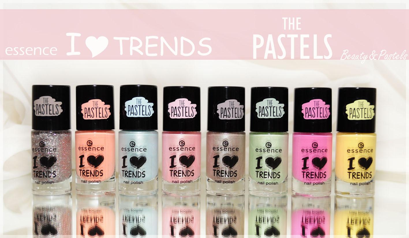 Pastell-Nagellack
