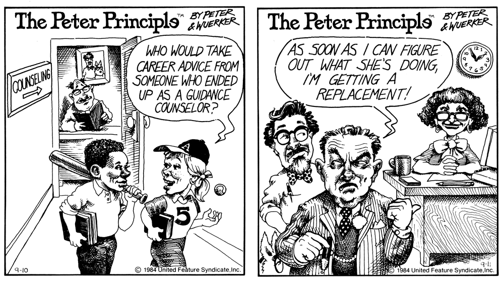 what is the peter principle thesis