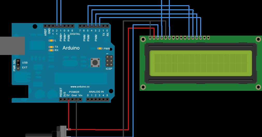 Oasi Lug  Parte 1  6  Utilizzare Un Lcd 16x2 Con Arduino