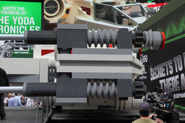 Lego Star Wars: X-Wing escala 1:1
