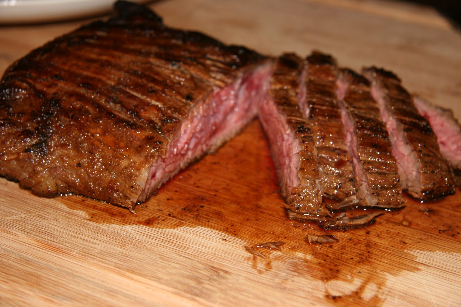 Hungry as a Horse: Lime-Marinated Flank Steak