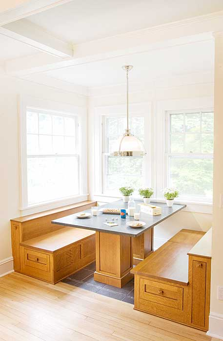 Breakfast Nook With Bench Storage Idea For The Home