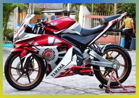 Modifikasi New Yamaha Vixion 2014 Terbaru, Streetfighter