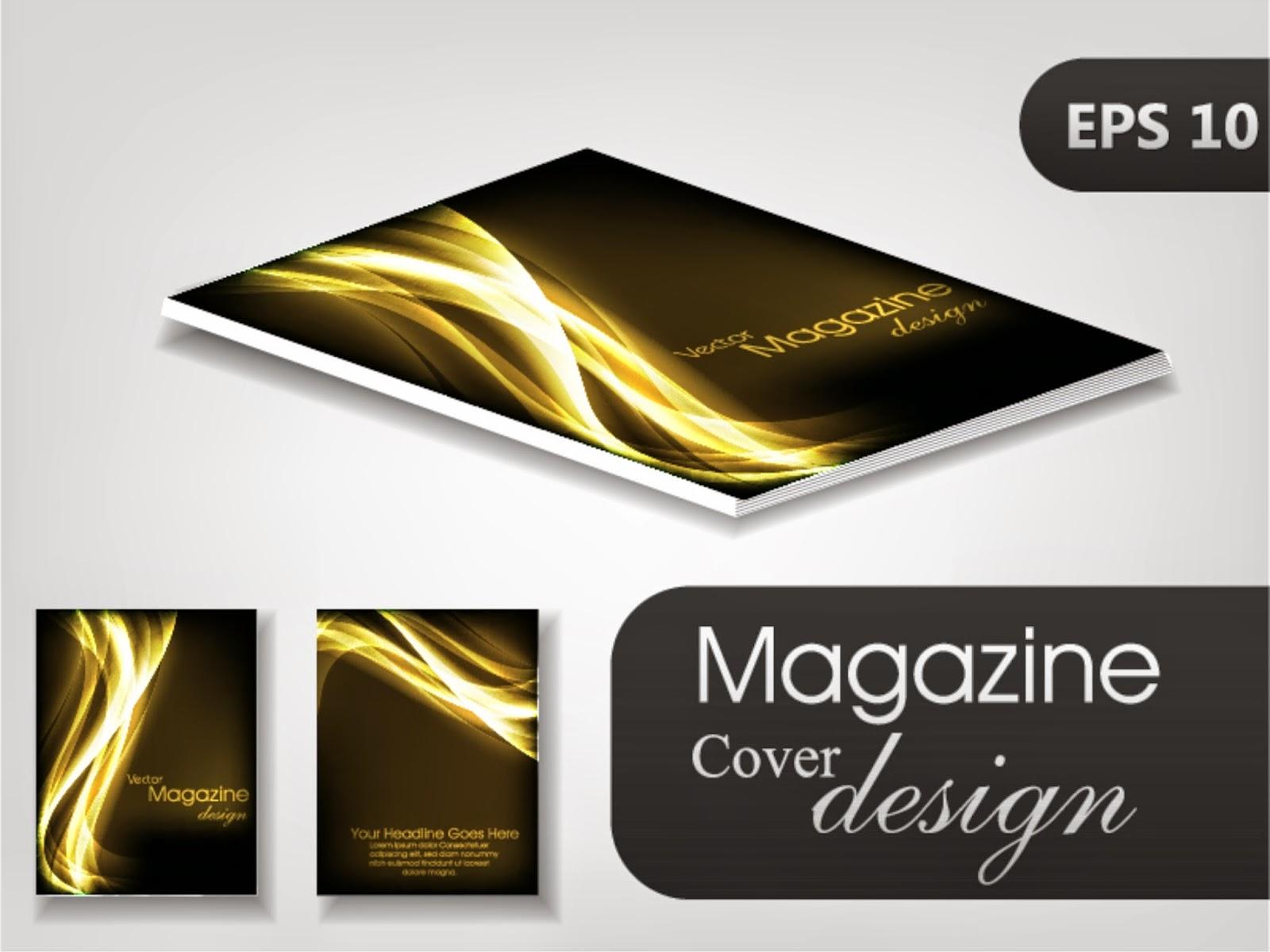 creative design magazine cover