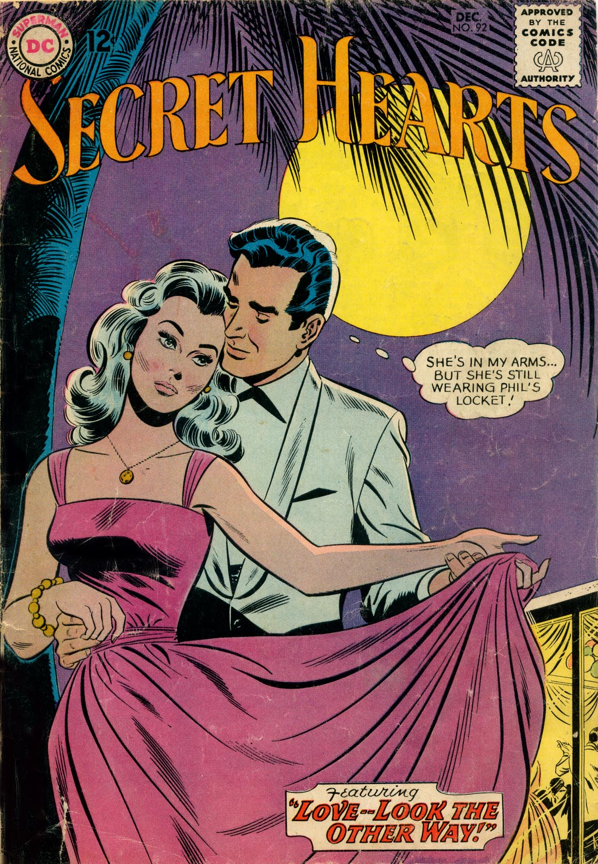 Read online Secret Hearts comic -  Issue #92 - 1
