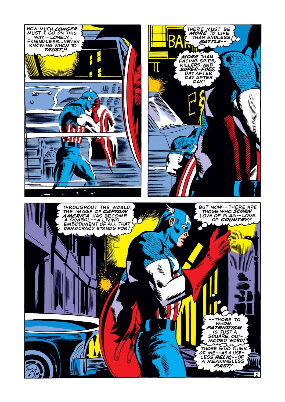 Captain America (1968) Issue #122 #36 - English 3