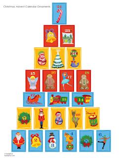 Assertum actividades para educaci n infantil calendario - Que poner en un calendario de adviento ...