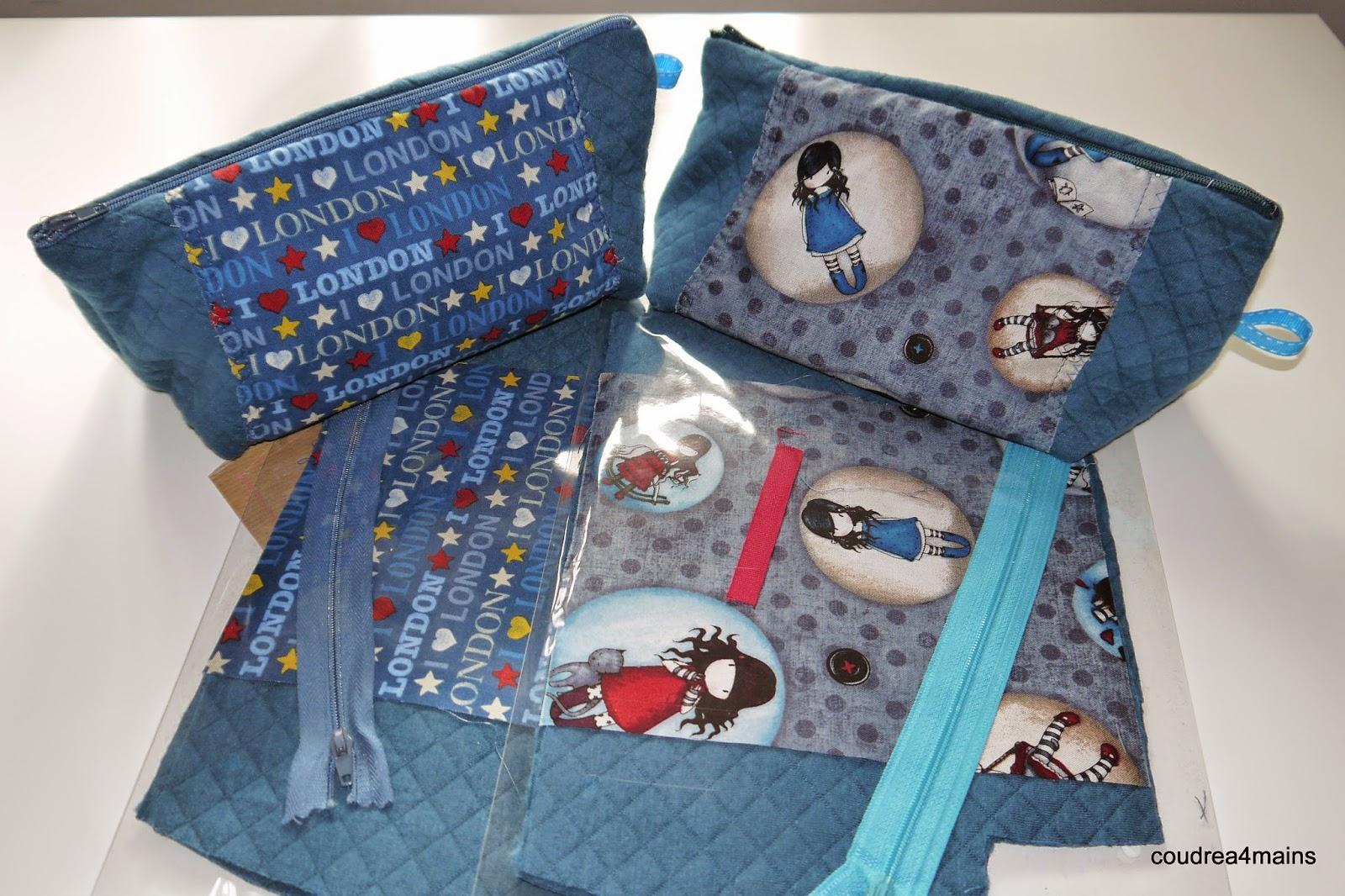 Coudre 4 mains nouveaux kits couture for Couture a 4 mains