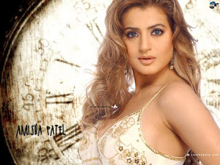 Amisha Patel Hairstyle Photo Gallery