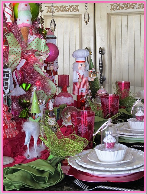 Sugar Plum Tree Tablescape