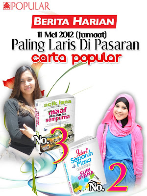 KAKI NOVEL: paling laris di pasaran carta popular bookstore 11 MEI