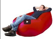 Кресло-лежак для дачи