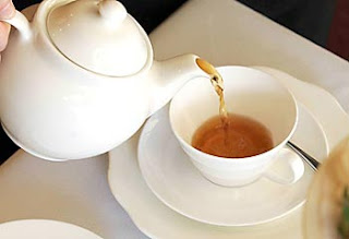 Drinking tea for health