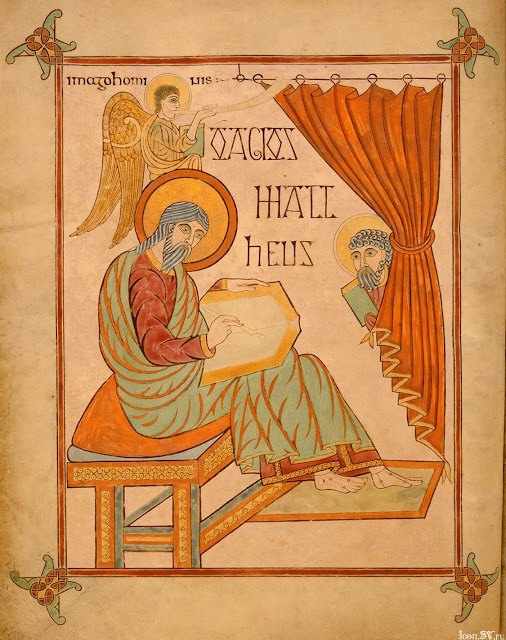 the importance of st john as a saint evangelist and apostle as portrayed in the lindisfarne gospels