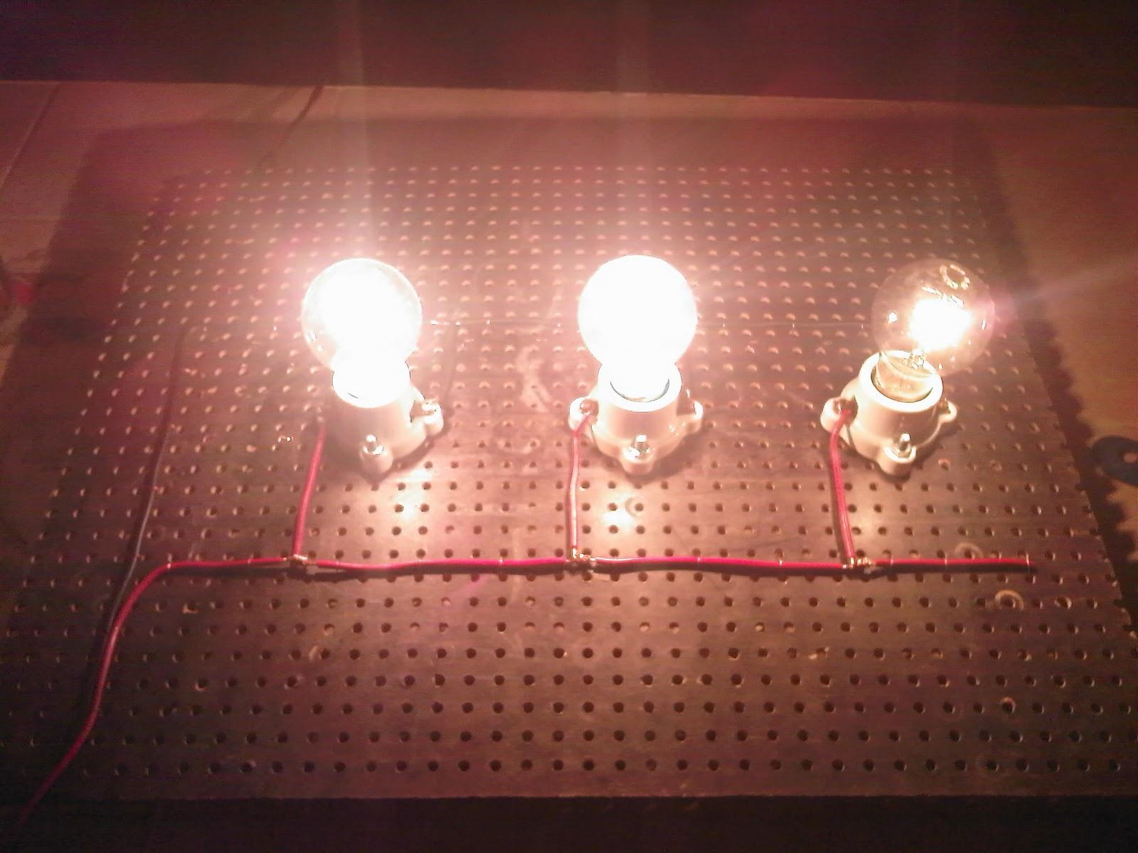 Circuito Paralelo : Circuitos paralelo y serie de resistencias circuitos de focos y