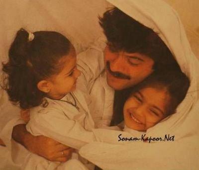 Childhood Pictures: Sonam Kapoor Childhood Pics