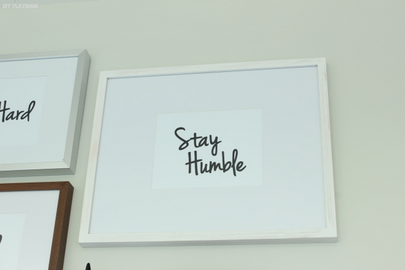 Stay Humble - Office Gallery Wall Printable Artwork