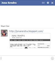 Mengirim Gambar Chat Facebook
