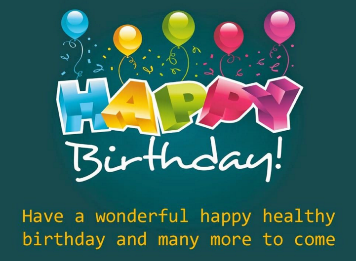 Cute birthday wishes card for freind teacher parents and staff