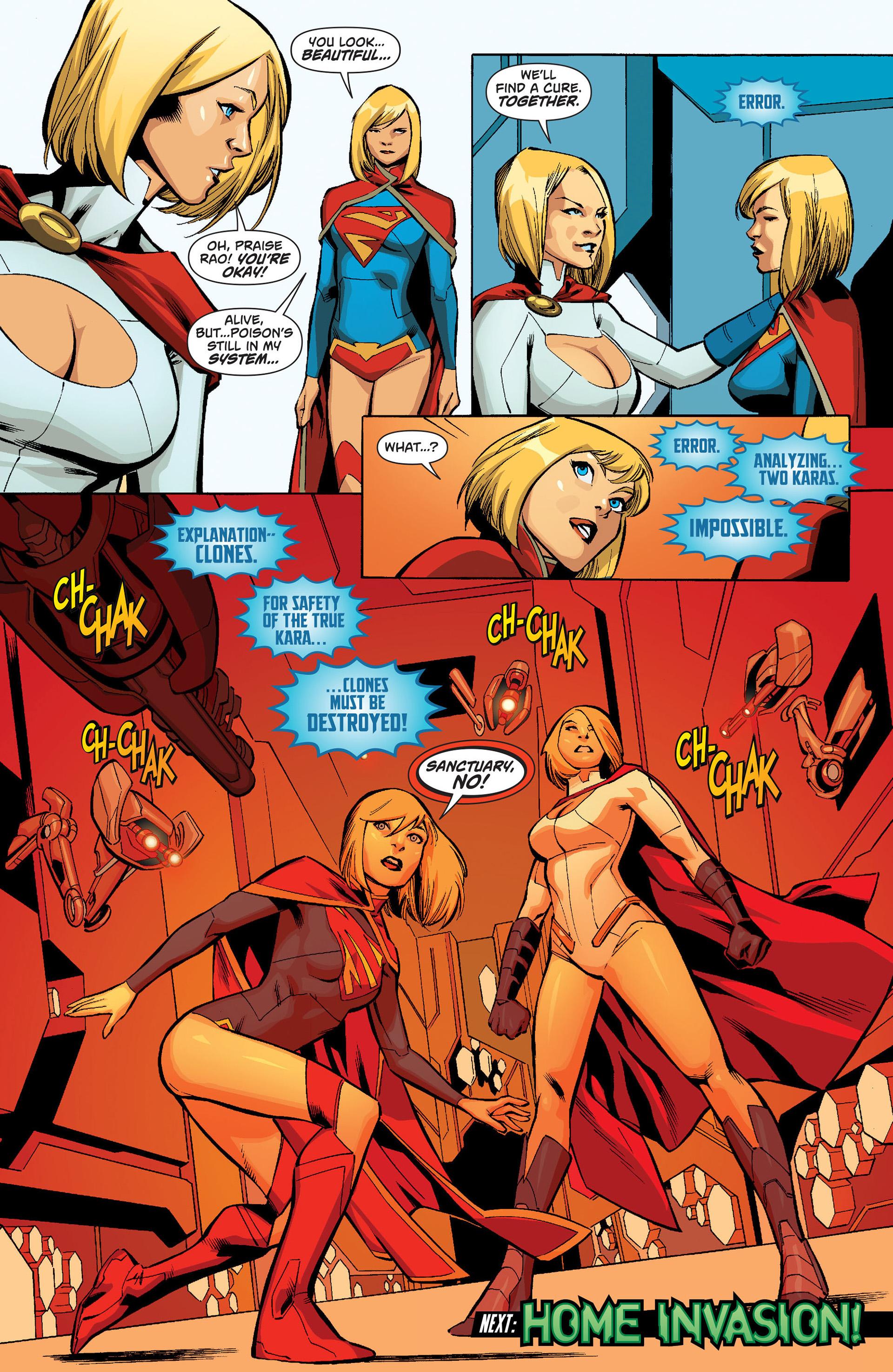 Supergirl (2011) Issue #19 #21 - English 21