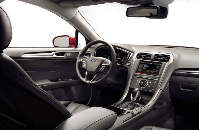 carro Novo Fusion 2013 Flex - interior