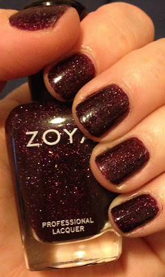 Zoya, Zoya Holiday 2013 Zenith Collection, Zoya Payton, Zoya nail polish, nail lacquer, nail varnish, nails, manicure, swatches, my latest mani, mani of the week