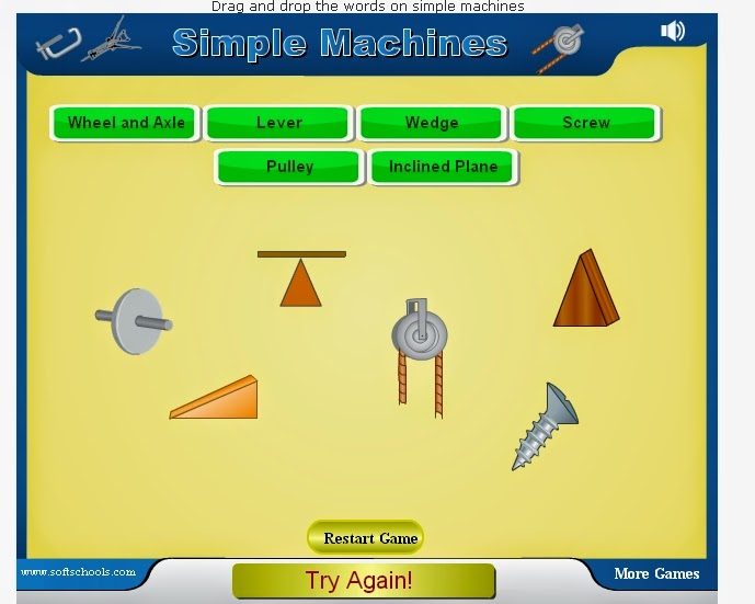 http://www.softschools.com/science/simple_machines/games/