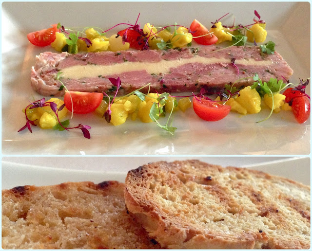 The Red Cat, Chorley - Ham Terrine