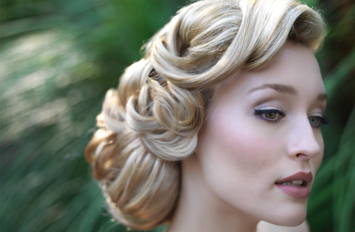 The Bloomin' Couch: Bridal hairstyles!