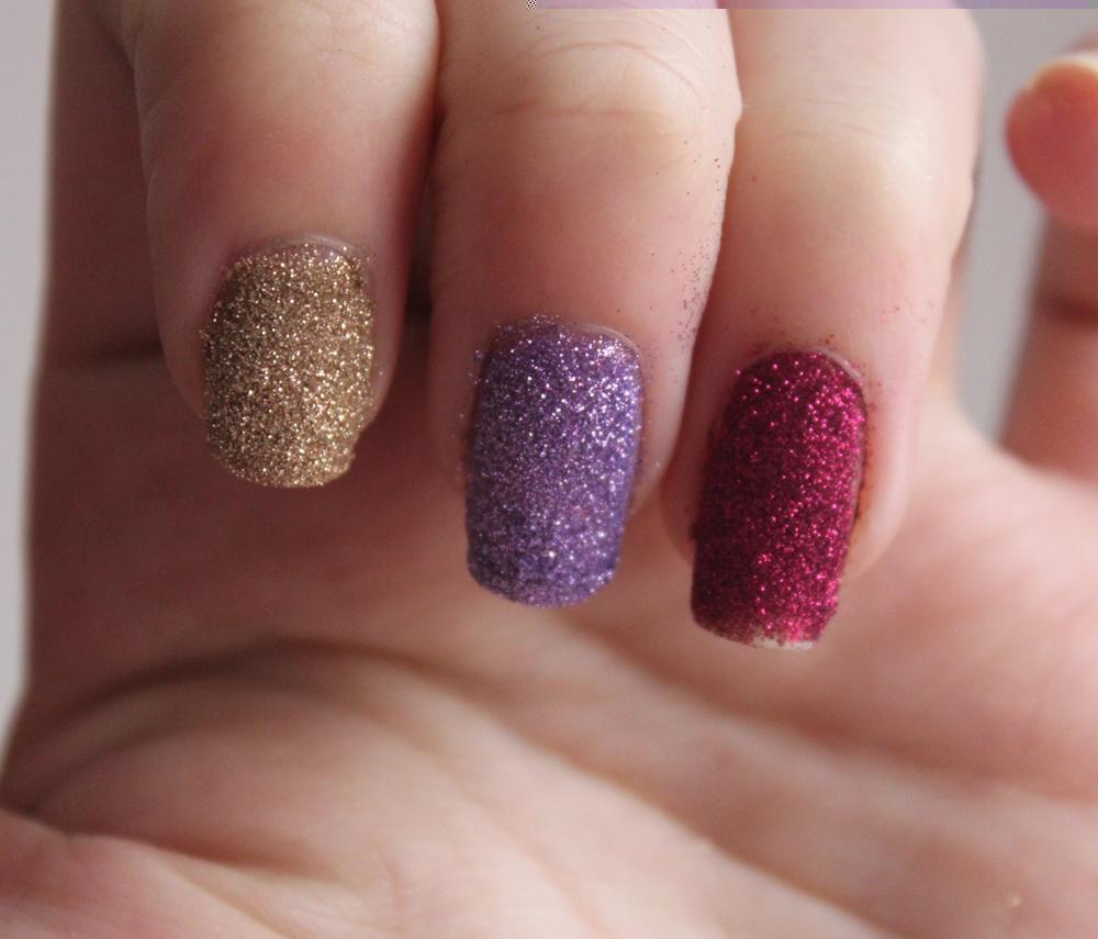 Glitter Nails: GOSH Nail Glitter