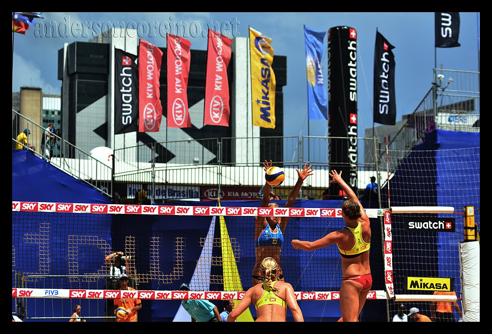 Beach Volleyball - Brasília, Brazil, April, 2012