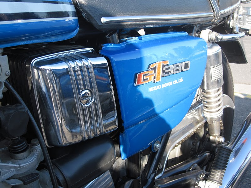 OldMotoDude  1974 Suzuki GT380L  2011 Retro Riders Show  Pasco  Wa