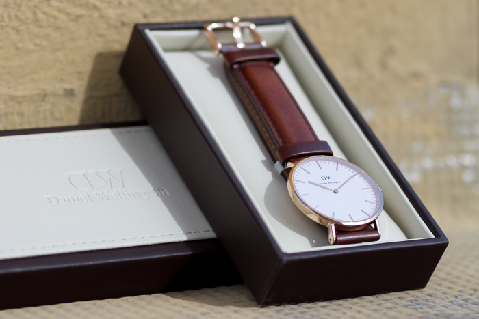 NEW On My Wrist: Daniel Wellington Watch