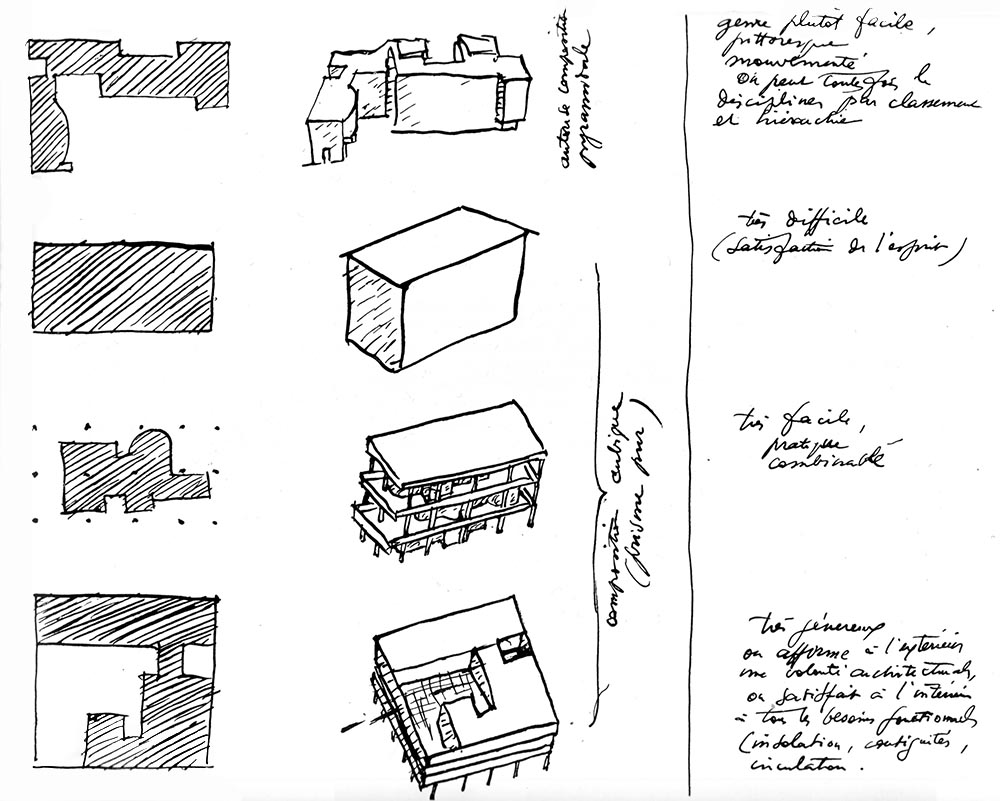 S o l s o n a u n o le corbusier cuatro composiciones for 5 points of architecture