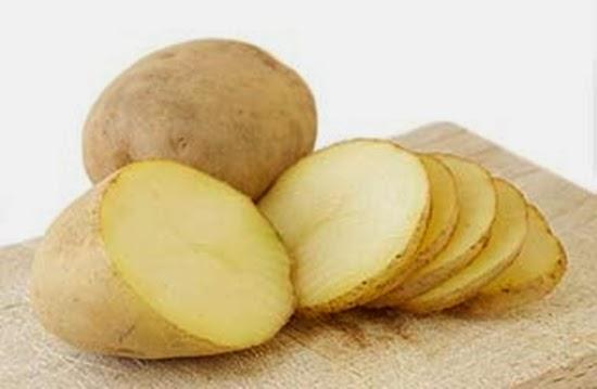 cara memutihkan dengan kentang