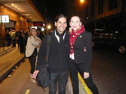 Dario Oliva y Laura Azcurra