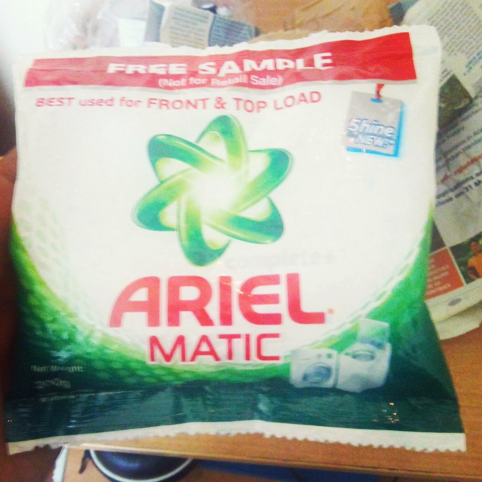 Ariel #SharetheLoad #WashBucketChallenge