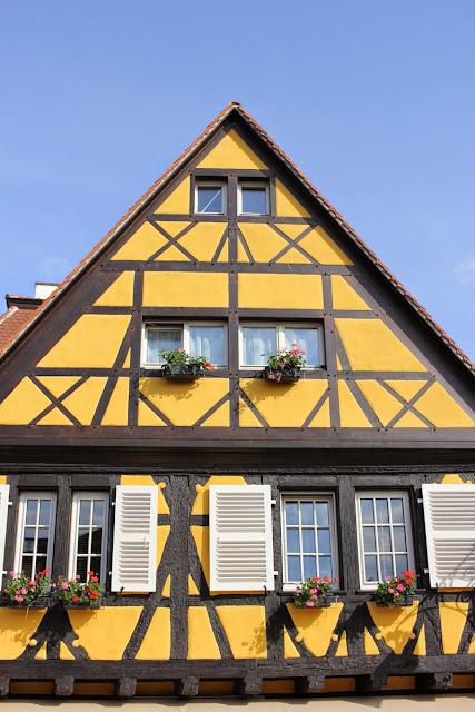 Yellow House in Colmar, Stephanie Kilgast