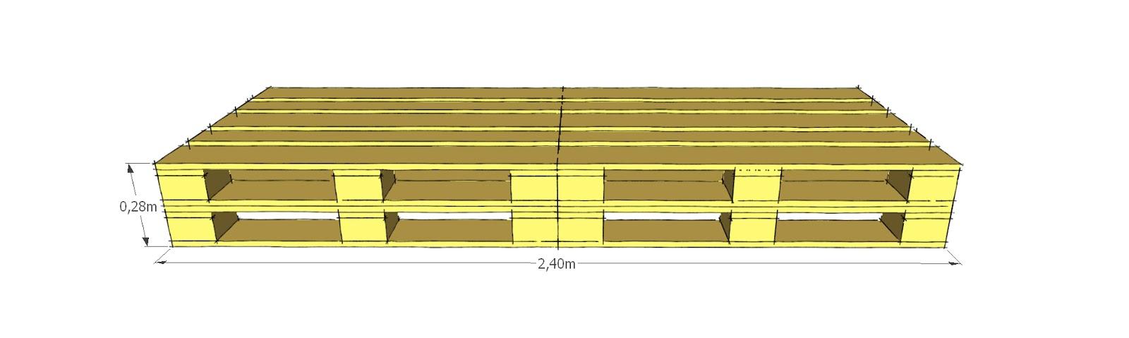 Progettare spazi verdi come costruire un divano con i - Realizzare un divano coi pallet ...