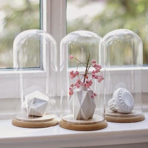 Decorar con campanas de cristal mi casa es feng - Campana de cristal ikea ...