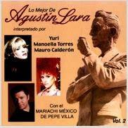 Lo Mejor De Agustín Lara CD (Otra Portada)