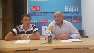 Fernando Pablos junto a Javier Garrido Novoa