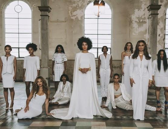 looks do casamento de Solange Knowles família e convidados