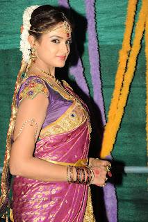 Asmita Sood in Telugu Bridal Attire 001.jpg