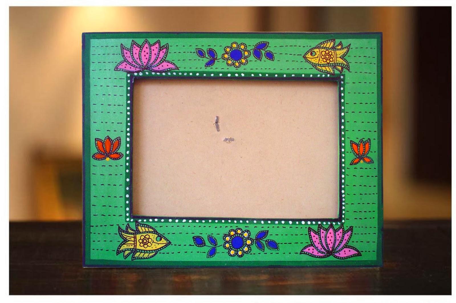 Fantastic do it yourself craft kits by the jaipur craft kit madhubani photo frame kit solutioingenieria Choice Image