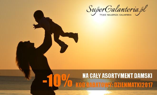 10% rabatu z okazji Dnia Matki