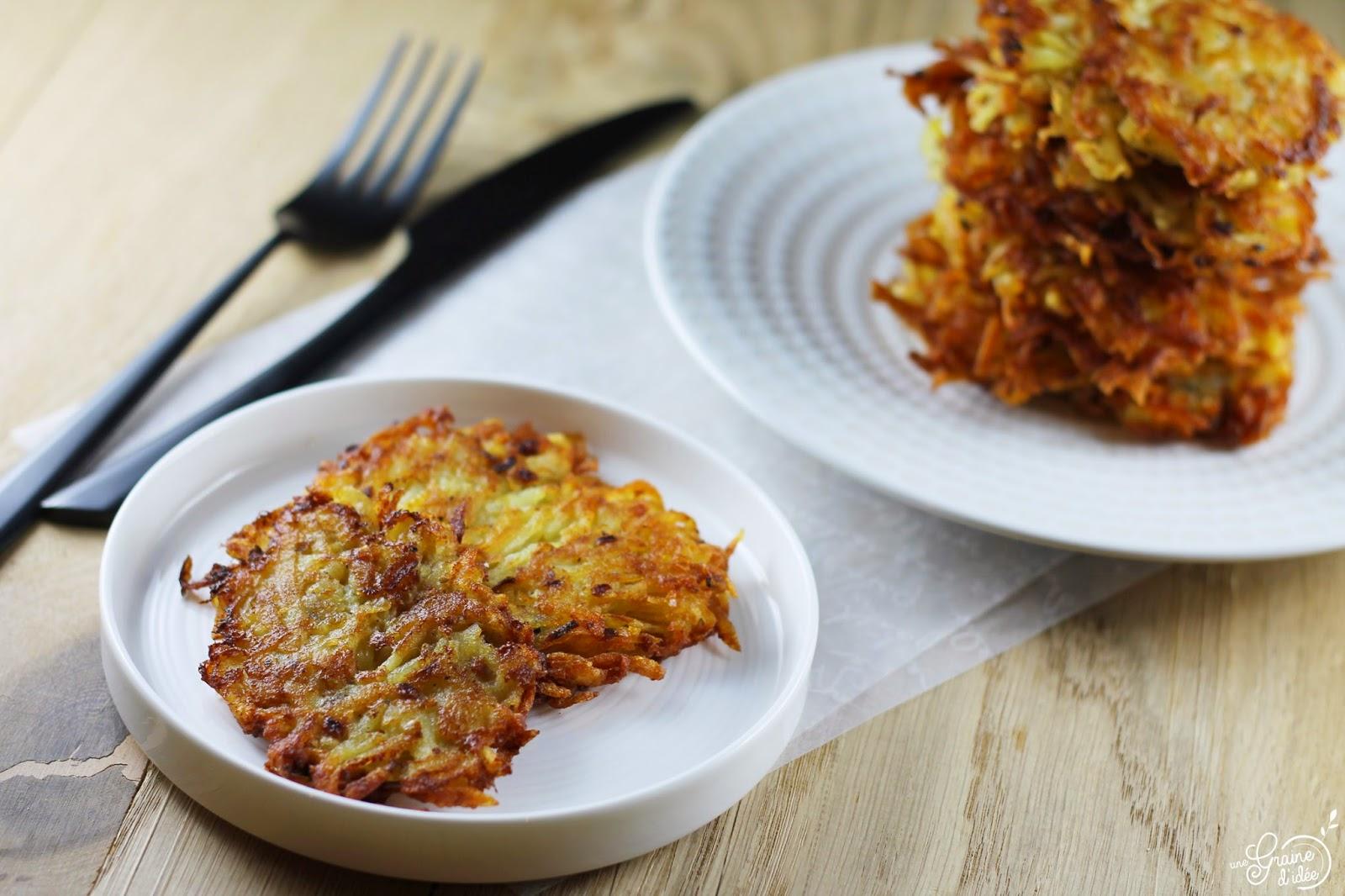 Râpé de pommes de terre - Une Graine d'Idée